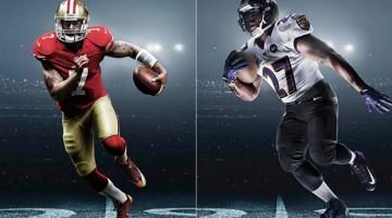 Super Bowl XLVII Uniforms