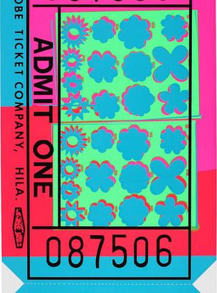 Lincoln Center Ticket 1967