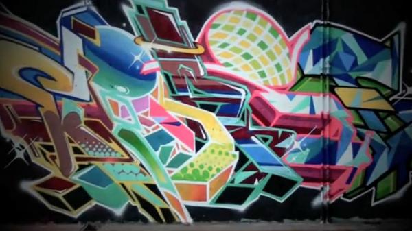 Graffiti | #Kone #Ikse65 #Cras | Tarbes
