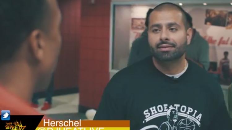 DJ Heat In The Streets Shoetopia DC 2013 Video Recap