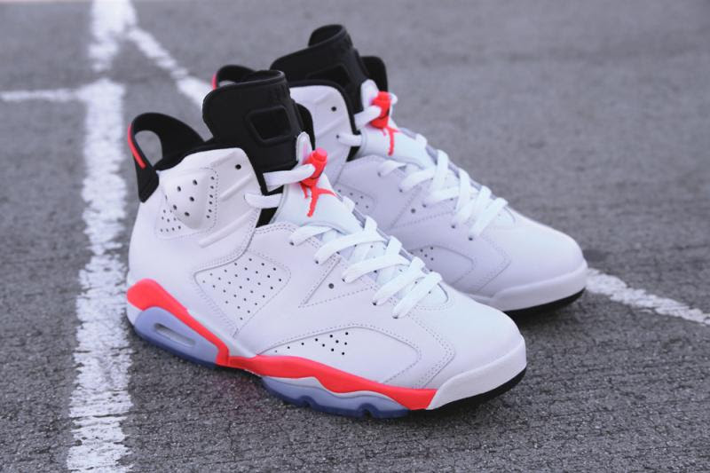 air jordan 6 retro white infrared