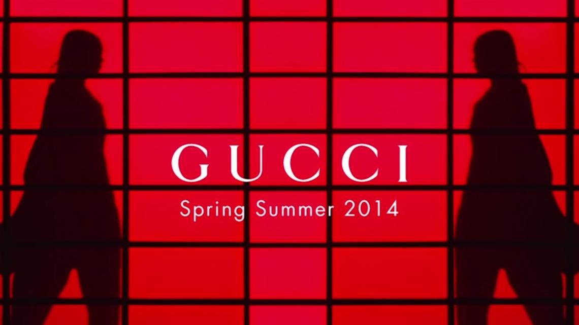 Gucci Presents The SpringSummer 2014 Campaign Film