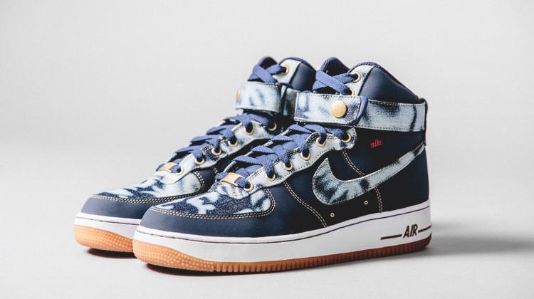 "Nike Air Force 1 ""Acid Wash Denim"" Pack"