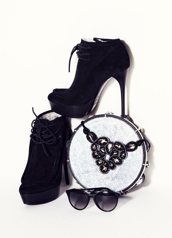 BURBERRY PRORSUM boots, $1275; STELLA MCCARTNEY sunglasses from OPSM, $330; SWAROVSKI necklace, $650. Shop Next BURBERRY PRORSUM boots, $1275; STELLA MCCARTNEY sunglasses from OPSM, $330; SWAROVSKI necklace, $650. - See more at: http://www.russhmagazine.com/fashion/shoots/believe-the-hype/#sthash.jxmAfMSP.dpuf