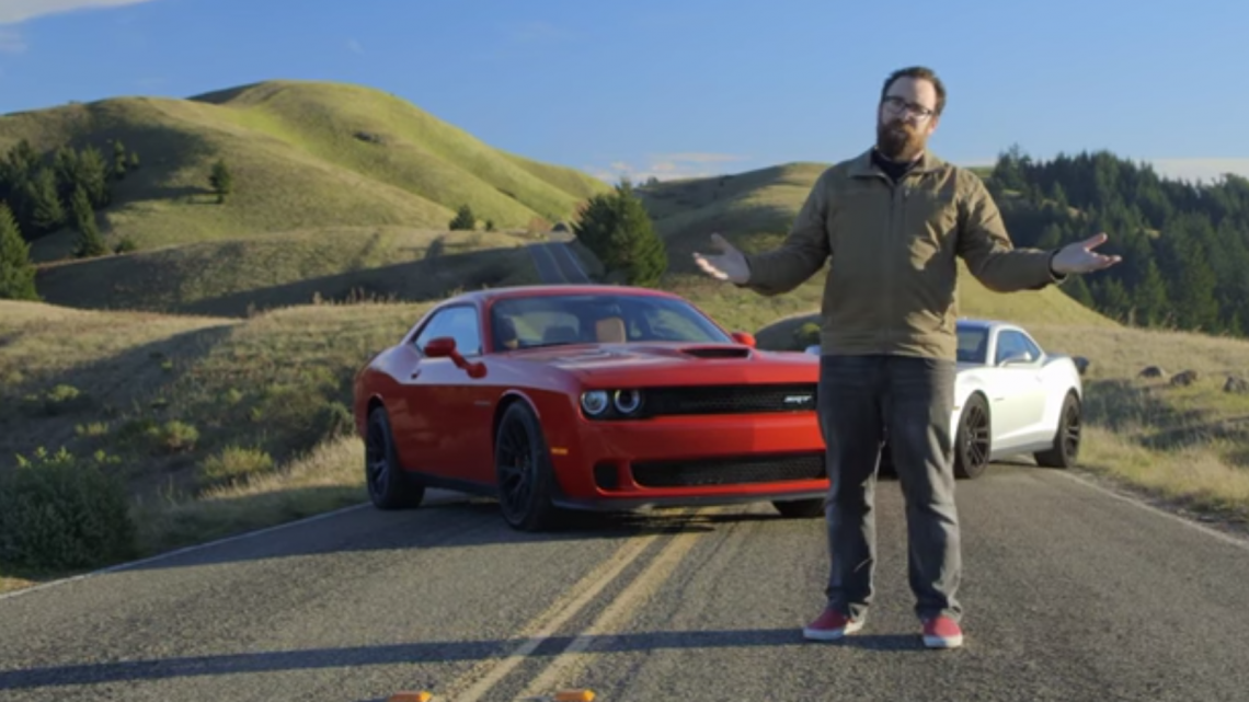 _2015 Dodge Challenger SRT Hellcat vs. 2015 Chevrolet Camaro ZL1