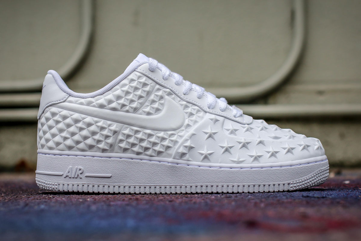 nike air force 1 lv8 vt white independence day in. Black Bedroom Furniture Sets. Home Design Ideas